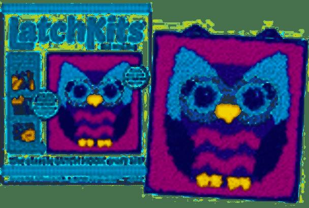 Owl Latch Rug Kit- Kahootz