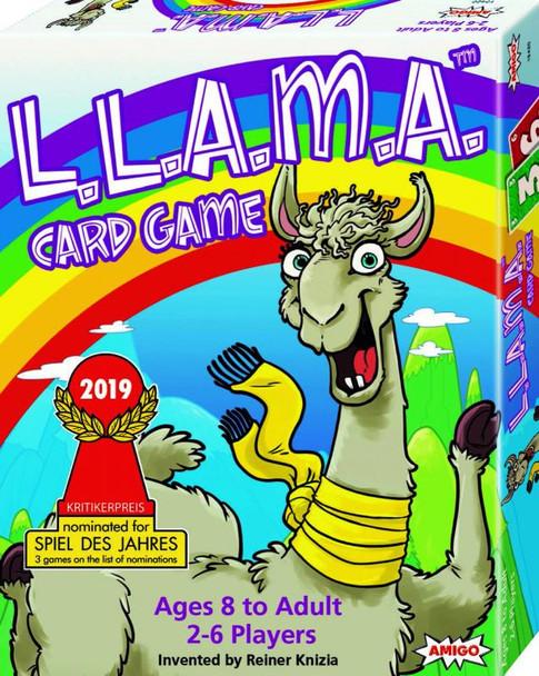 L.L.A.M.A Card Game