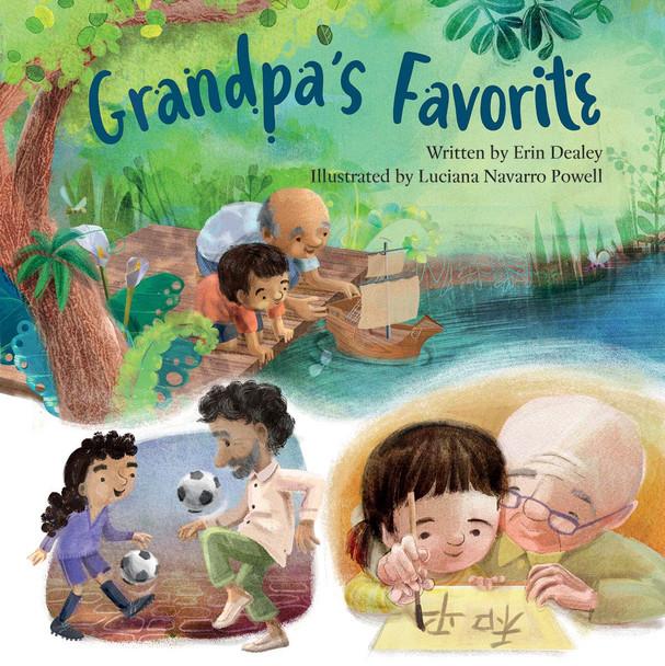 Grandpa's Favorite hardcover book