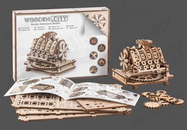 Wooden City: V-8 Engine