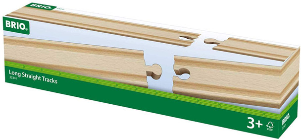 Large Straight Track pieces for wooden train sets