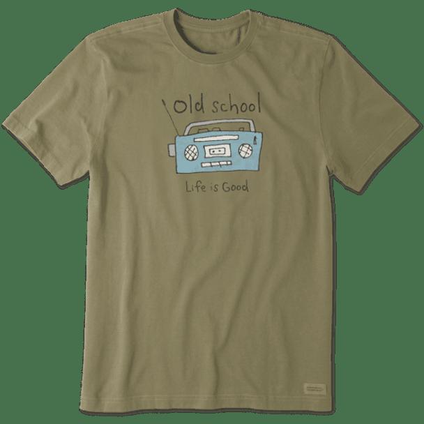 Old School Radio crusher tee