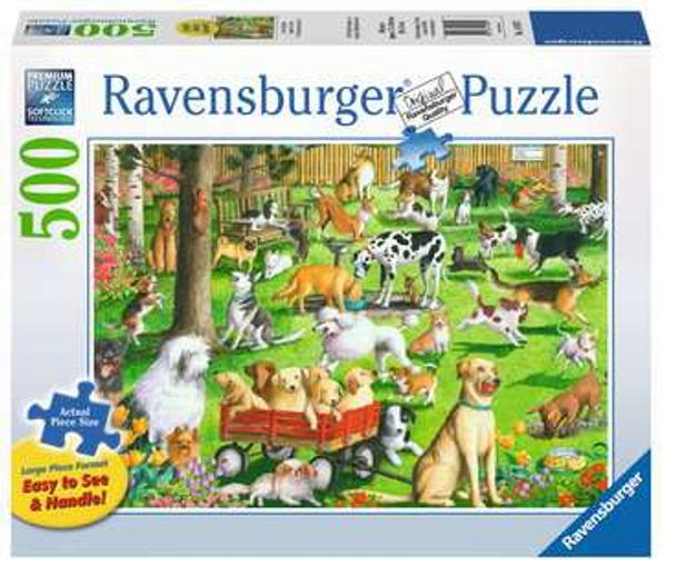 At the Dog Park 500 pc Puzzle