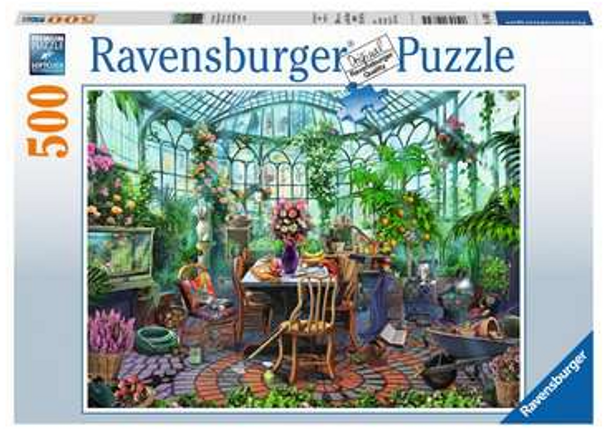 Greenhouse Morning 500 pc  Puzzle