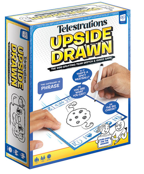 Telestrations Upside Drawn