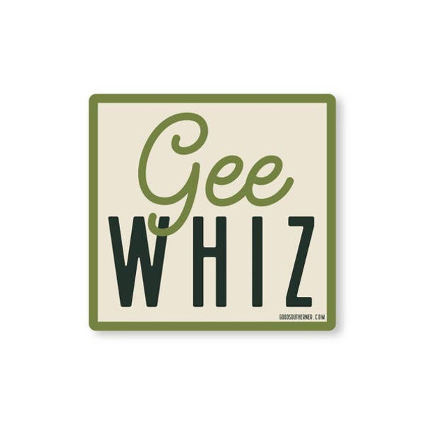 Gee Whiz Sticker
