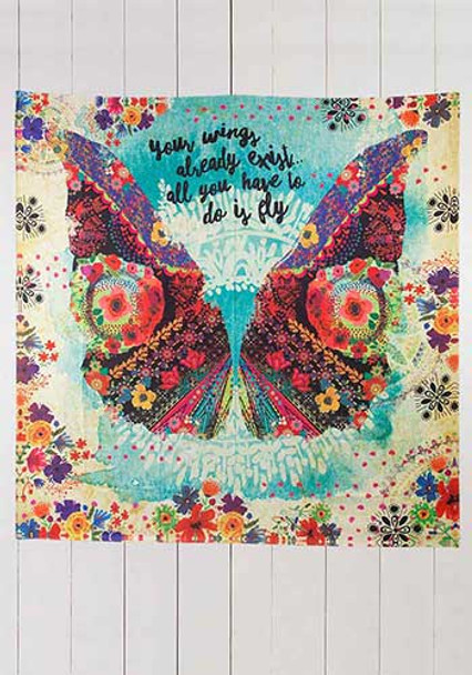 Your Wings Already Exist tapestry