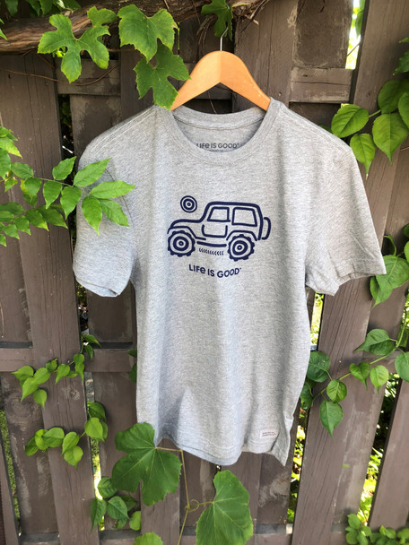 Off Road Jeep men's tee