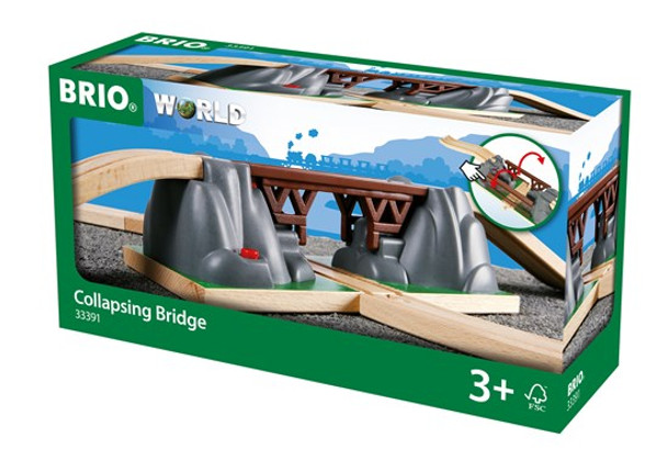 Brio Collapsing Bridge for trains