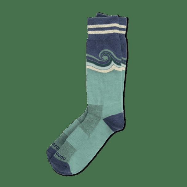 Men's Wave cushioned socks