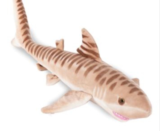 "24"" Tiger Shark plush"