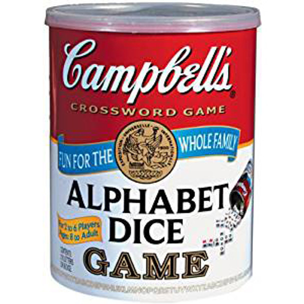 Campbell's Alphabet Dice Game