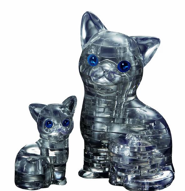 Original 3D Crystal Puzzle Cat