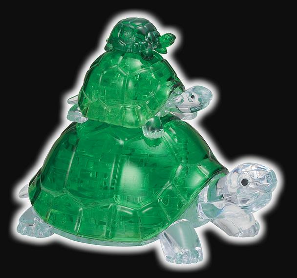 Original 3D Crystal Puzzle Turtles