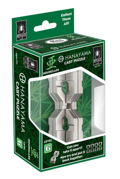 Hourglass Cast Puzzle Level 6