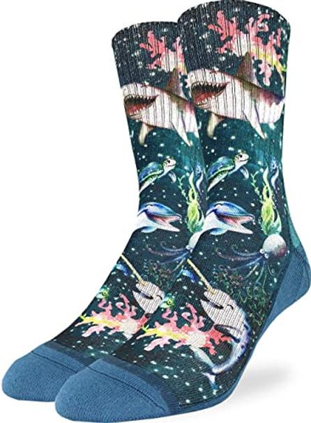Happy Sea Life Socks Size 8-13