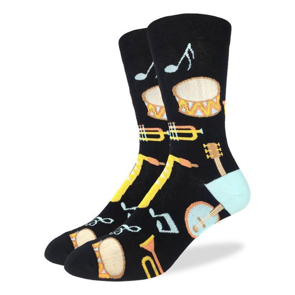 Men's Musical Instruments Socks
