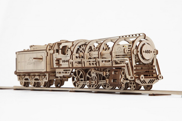 UGears Locomotive Mechanical Model