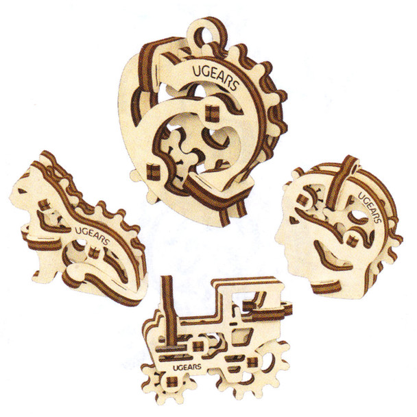 UGears Mini Models Fidgets