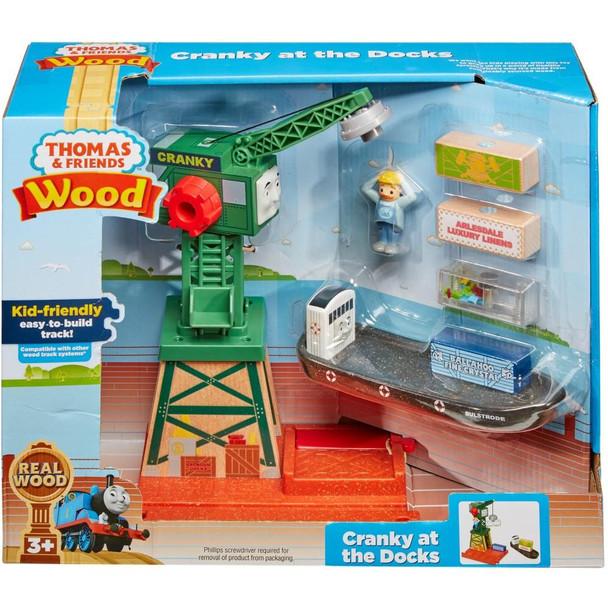 Cranky at the Docks - Thomas Friend