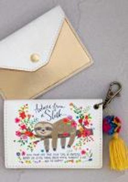 Sloth Card Holder