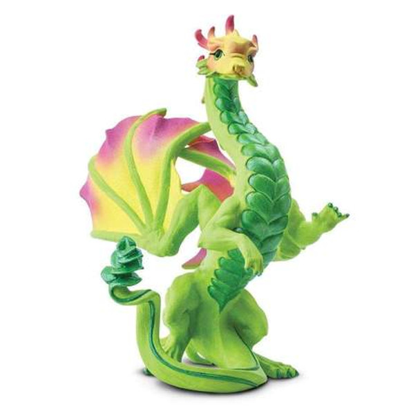 Flower Dragon Figurine