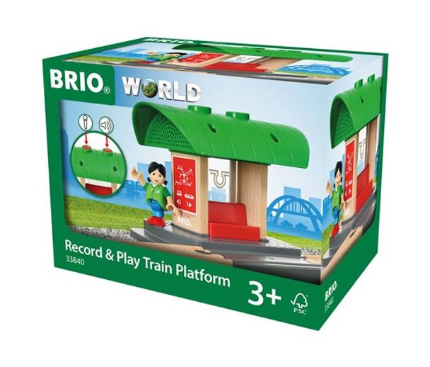 Record & Play Train Platform