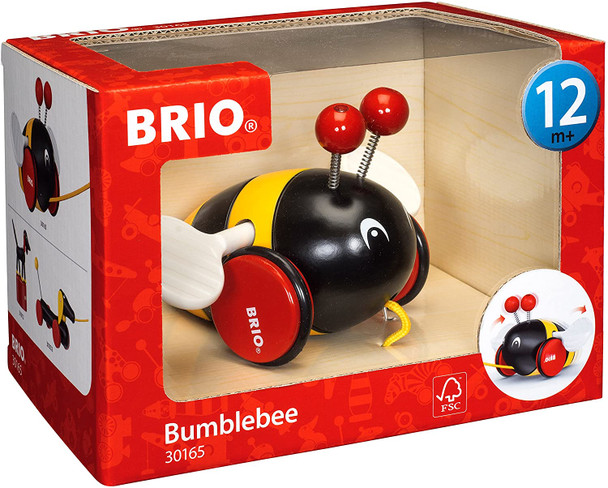 Brio Bumblebee Pull Toy