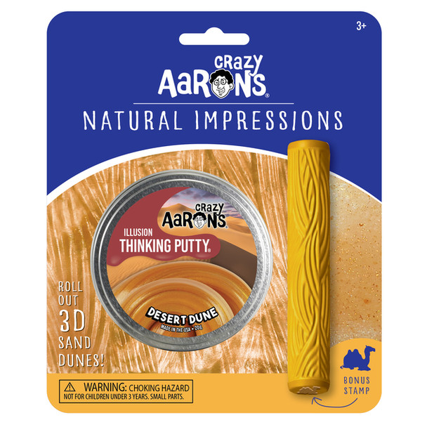 Crazy Aaron's Desert Dune Natural Impressions Thinking Putty