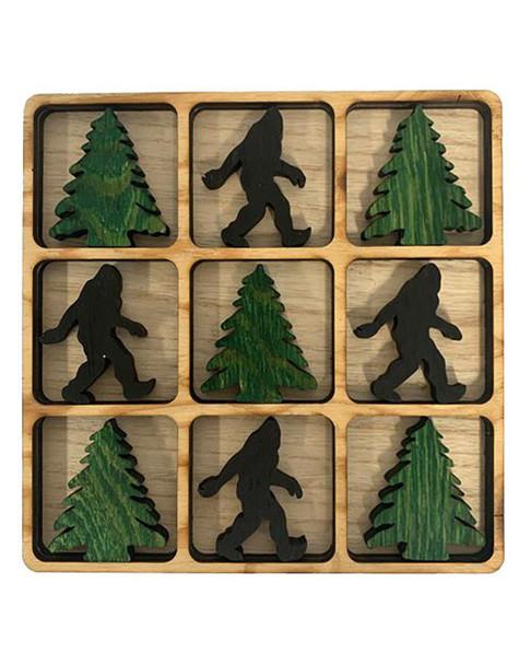 Bigfoot/Pinetree Tic-Tac-Toe