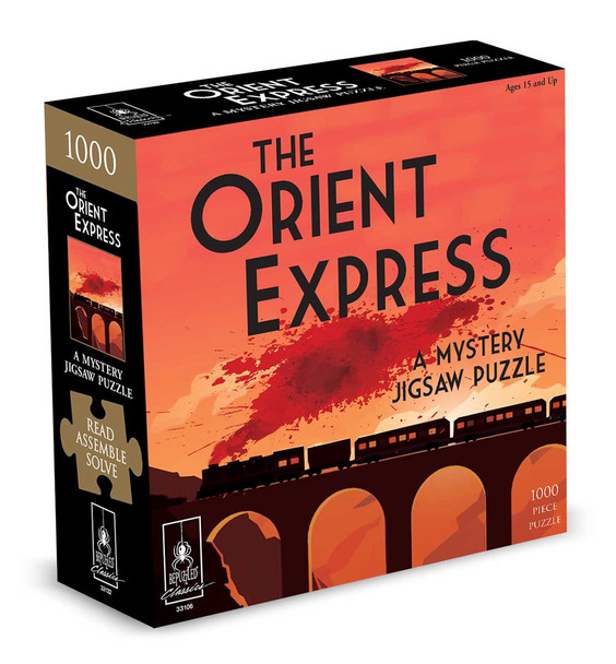 The Orient Express 1000 pc. Mystery Puzzle