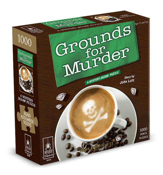Grounds for Murder 1000 pc. Mystery Puzzle
