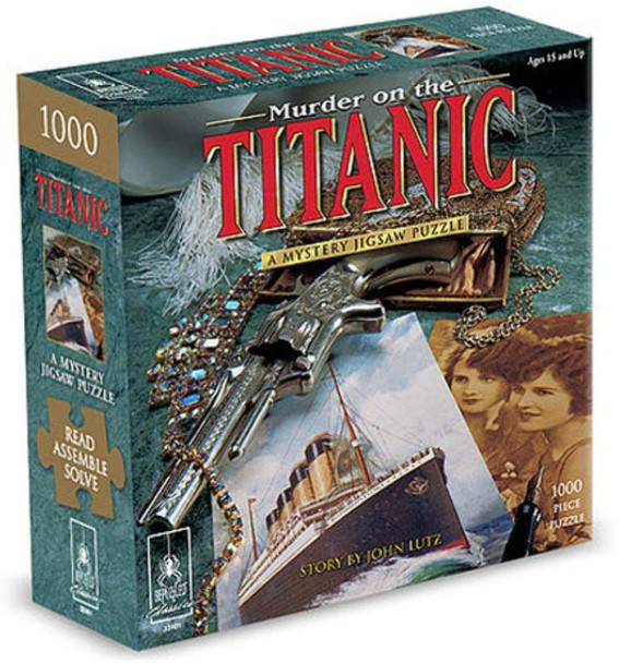 Murder on the Titanic 1000 pc. Mystery Puzzle