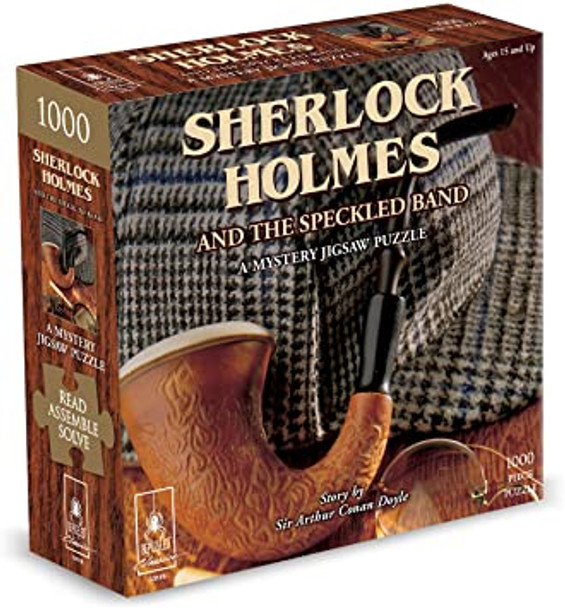 Sherlock Holmes and the Speckled Band 1000 pc. Mystery Puzzle