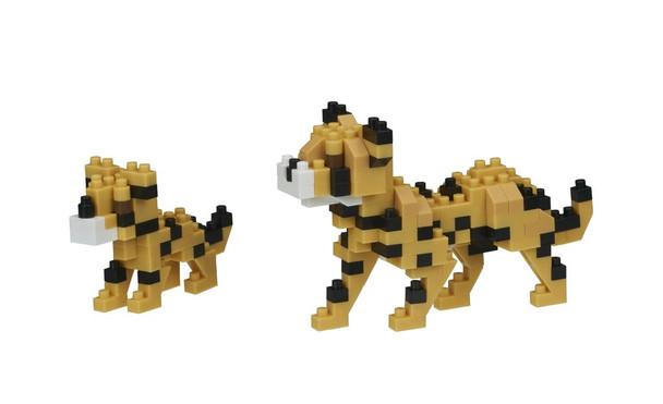 Cheetahs Nanoblocks