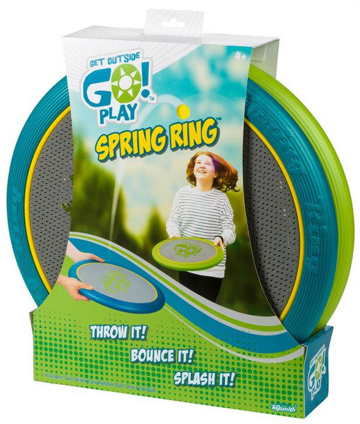 Spring Ring Hand Trampoline Game