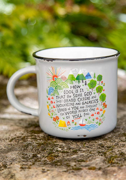God Created You Coffee Mug