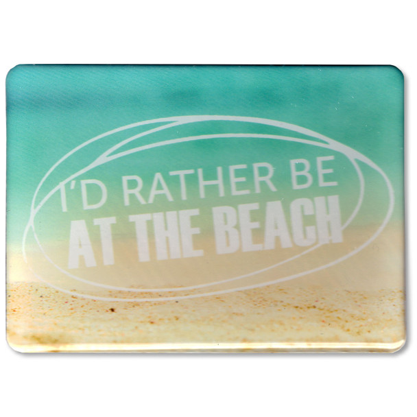 Rather Be At The Beach Magnet