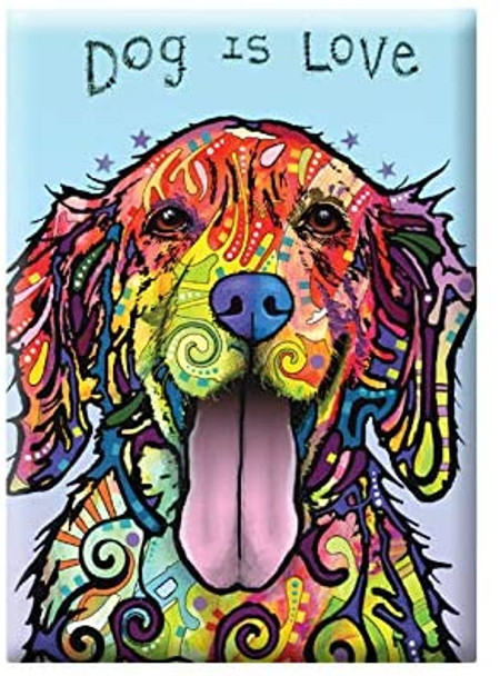 Dog Is Love Magnet
