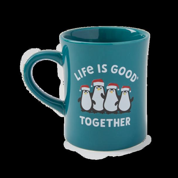 Together Penguin Mug