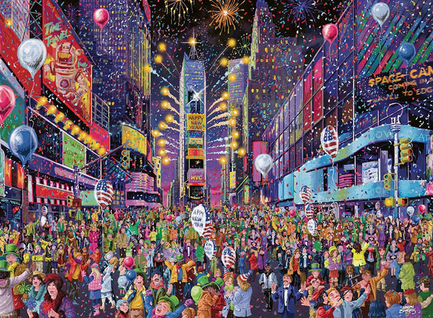 New Years in Times Square 500 pc. Puzzle