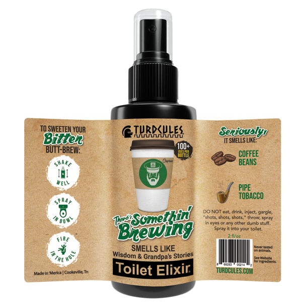 Somethin's Brewing Toilet Elixir