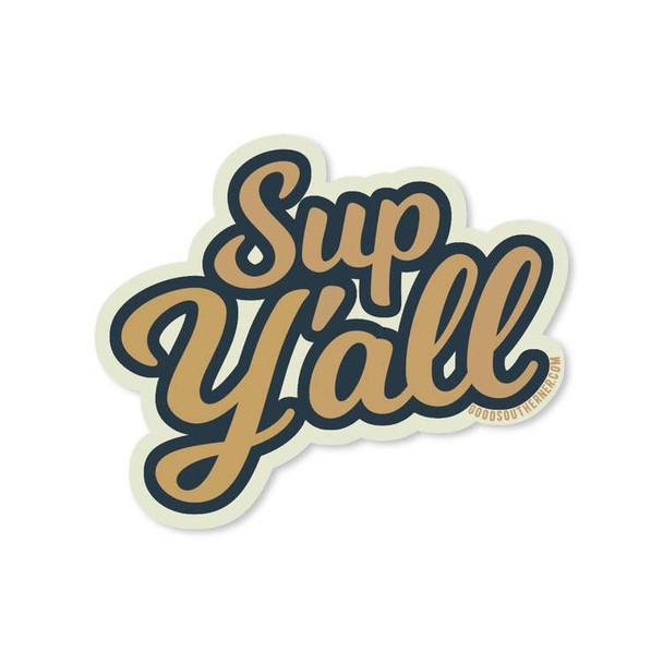 Sup Y'all Sticker