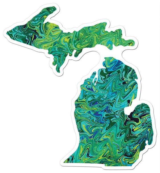 Unsalted Michigan Sticker