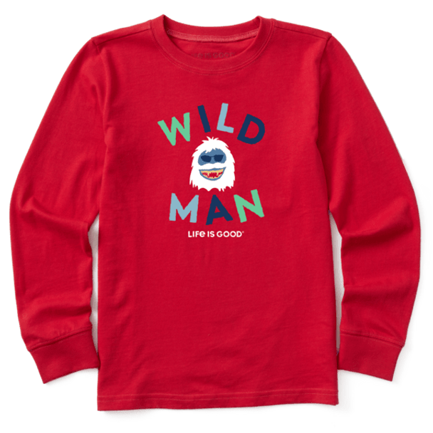 Kids Wild Man LS-tee