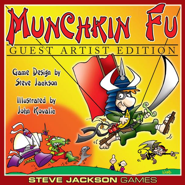Munchkin Fu: Guest Artist Edition