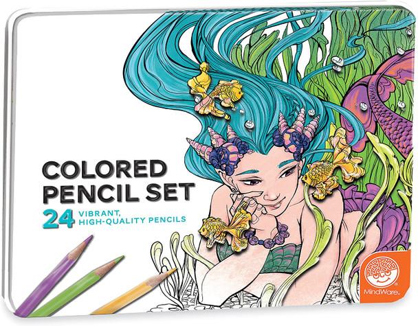 24 pc. Colored Pencil Set