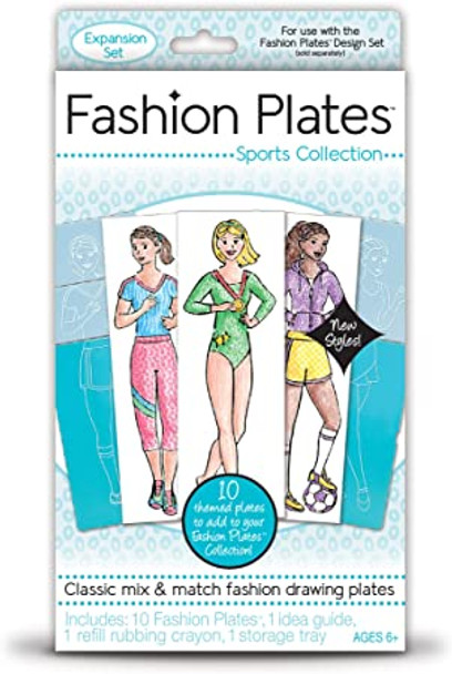 Fashion Plates Sports Collection