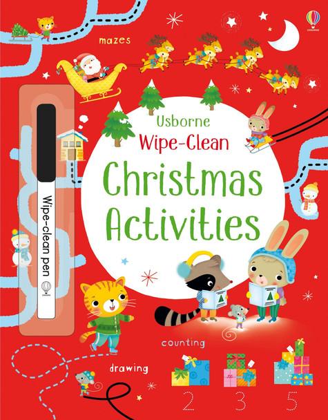 Wipe Clean Christmas Activities