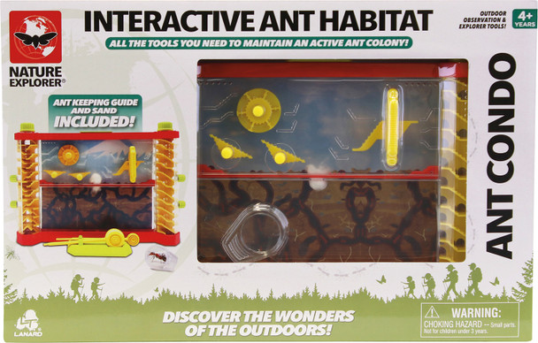 Interactive Ant Habitat